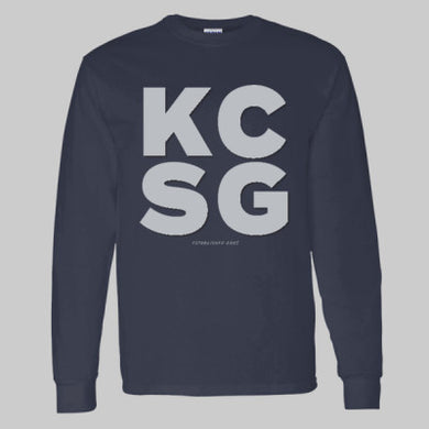 Adult LS T-Shirt KCSG Block