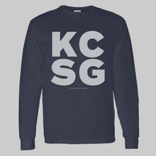 Load image into Gallery viewer, Youth LS T-Shirt KCSG Block