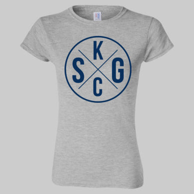 Womens SS Softstyle T-Shirt KCSG Circle