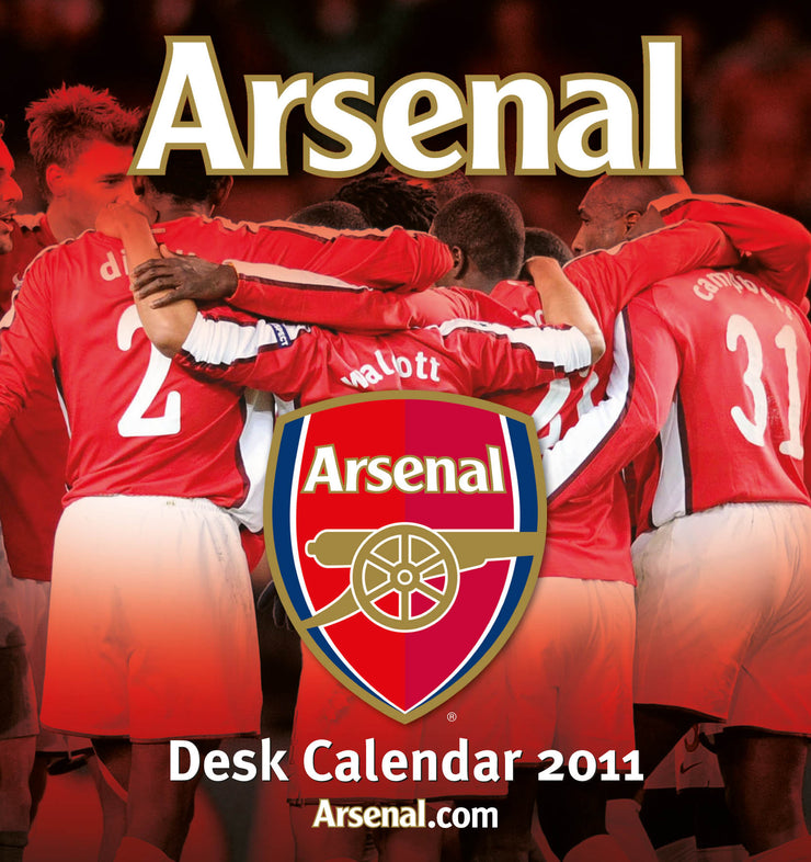 2011 Desk Calendar (Arsenal)