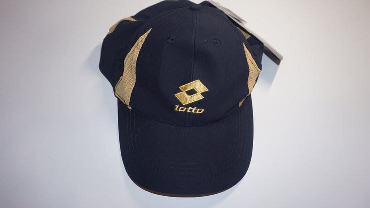 Lotto Cap (Blue/Gold)
