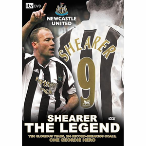 Shearer The Legend - DVD