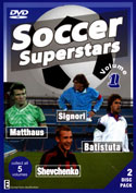 Soccer Superstars Vol 1
