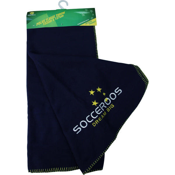 Australian National Team 'Socceroos' Polar Fleece Throw