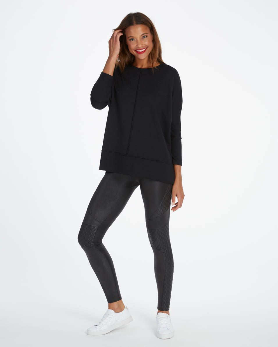 Spanx Perfect Length Top Black