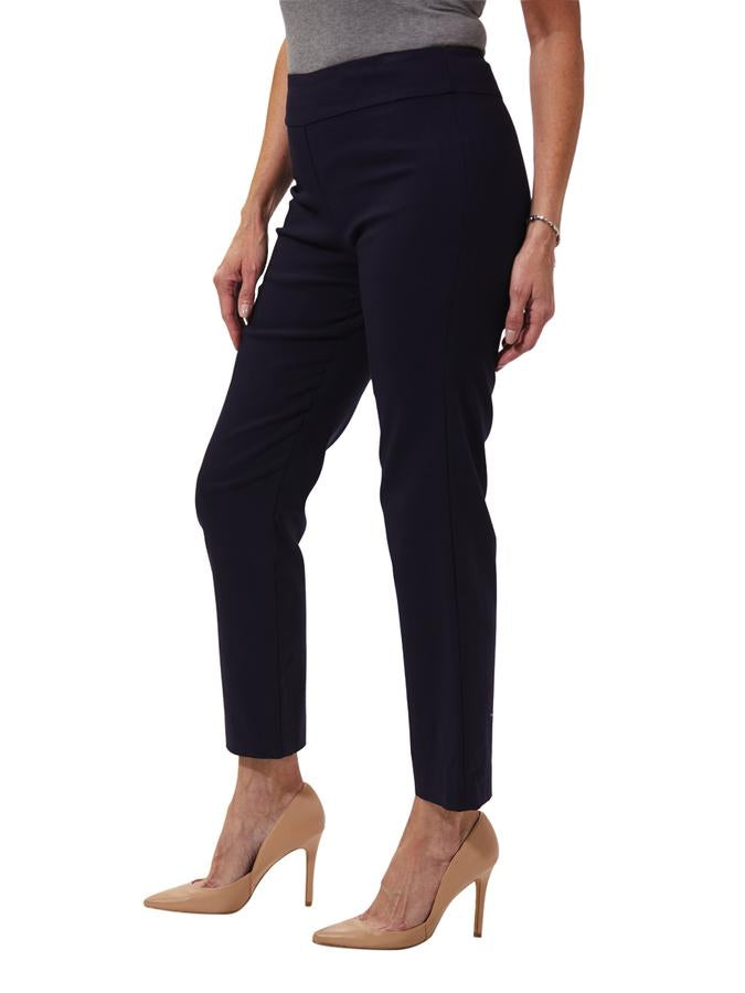 Krazy Larry Navy Pull on Pants