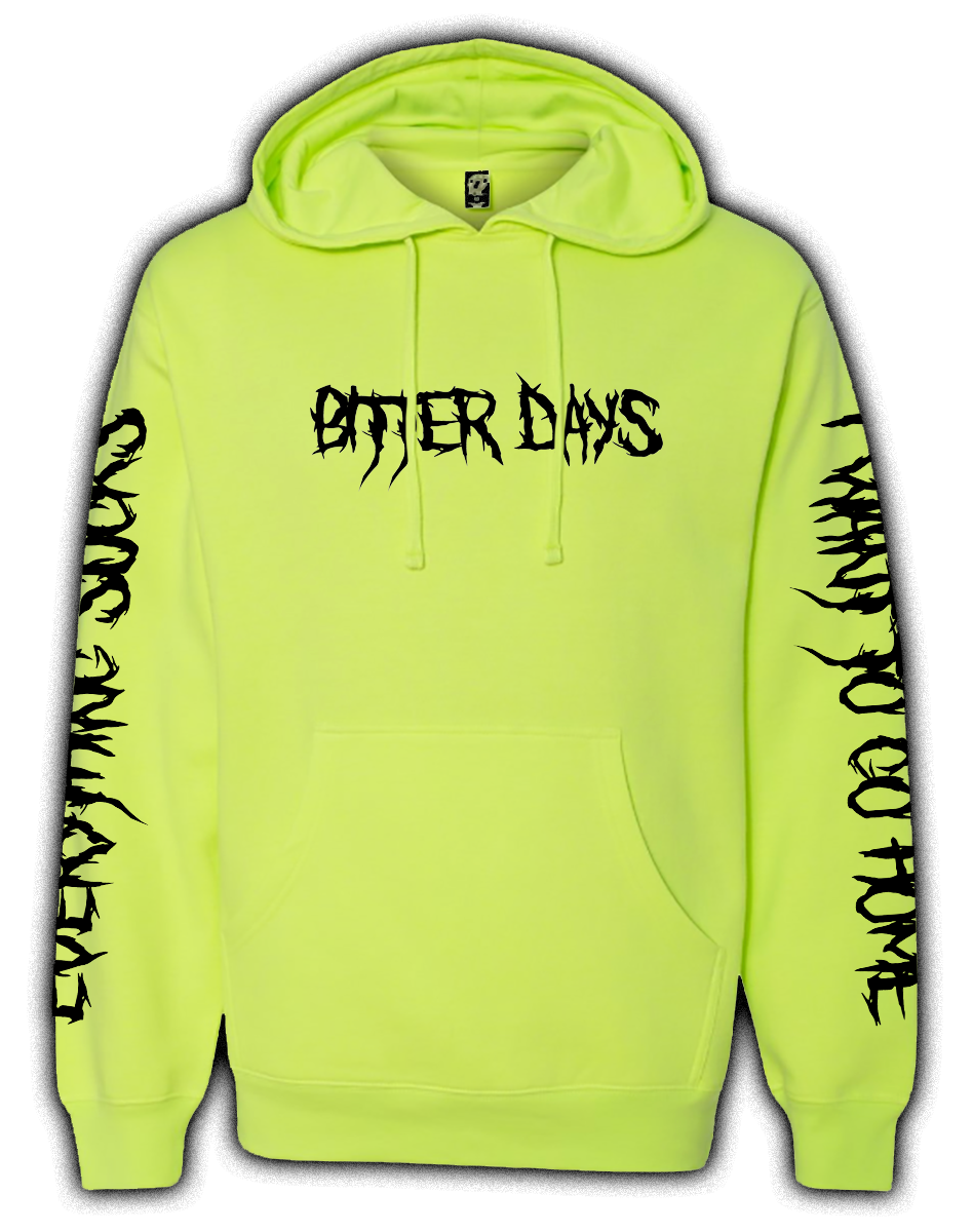 BITTER DAYS HIGHLIGHTER HOODIE