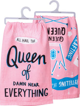 "Load image into Gallery viewer, Dish Towel-""Queen of Everything"""
