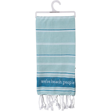 We're Beach People-Dish Towel
