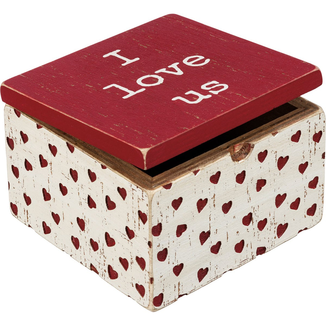 Hinged Box - I Love Us
