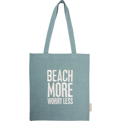 Beach More Worry Less-Tote
