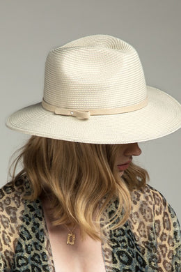 Fedora with Faux Suede Band