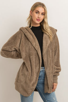 Open Sherpa Jacket (3 Colors)