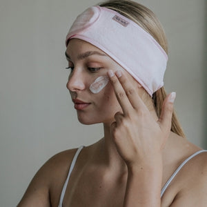 Microfiber Spa Headband - Blush