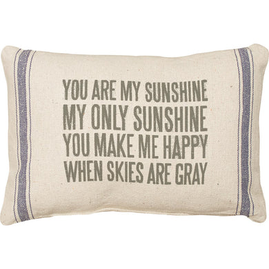 Pillow-You Are My Sunshine