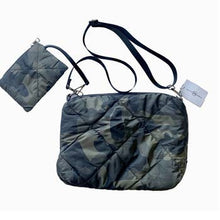 Load image into Gallery viewer, Quilted Camo Crossbody