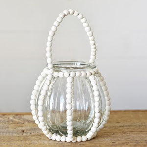 Small Beaded Jar