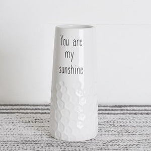 You Are My Sunshine Vase