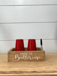 Party Cup & Marker Holder Double