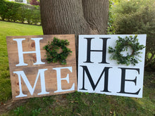 Load image into Gallery viewer, Home Wreath Sign