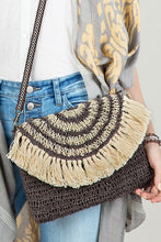 Load image into Gallery viewer, Bohemian Jute Crossbody Bag