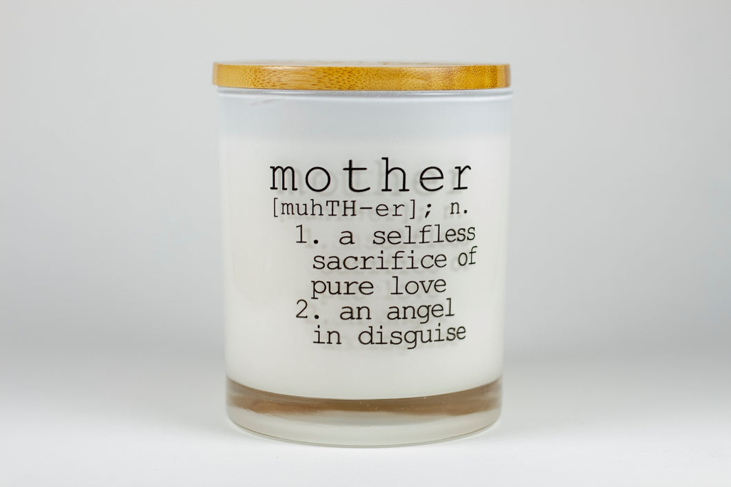 **Bundle**Definition of Mother Soy Candle in Sea Salt