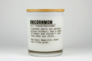**Bundle** Unicorn Mom Soy Candle (Prosecco Fizz Scent)