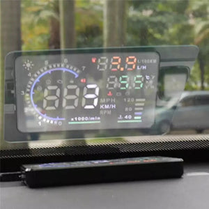 WINDSHIELD NAVIGATION DISPLAY
