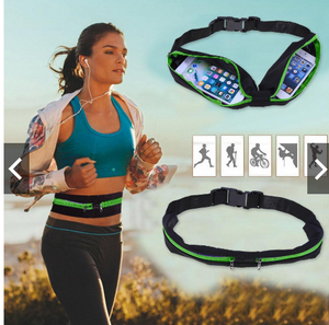 DUAL POCKET RUNNING BELT