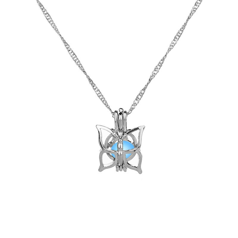 Charm Glowing Butterfly Pendant