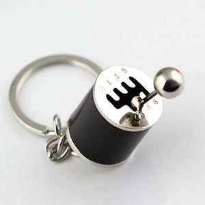 GEAR SHIFTER KEYCHAIN
