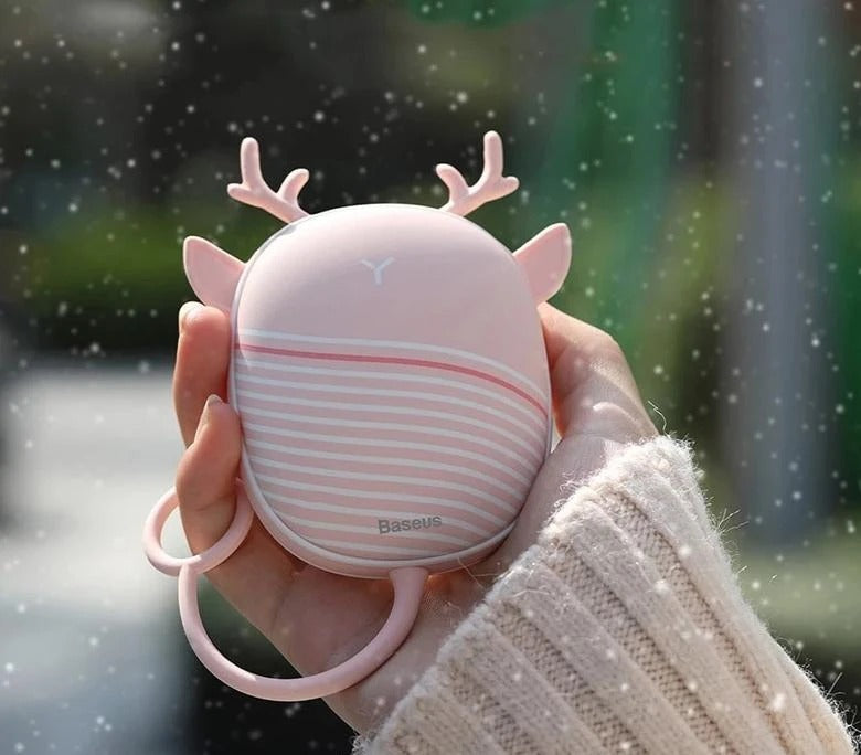 Portable Hand Warmer with Lamp