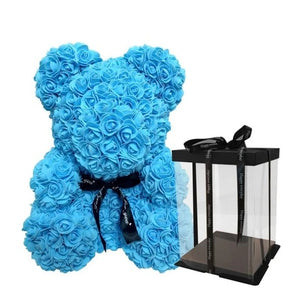 Plush Rose Teddy Bear