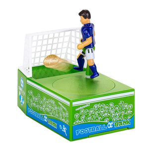 Goal Setting Soccer Player Piggy Bank