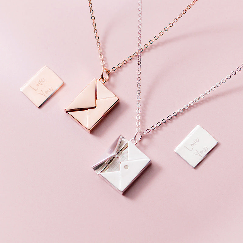 """I LOVE YOU"" Letter Necklace"