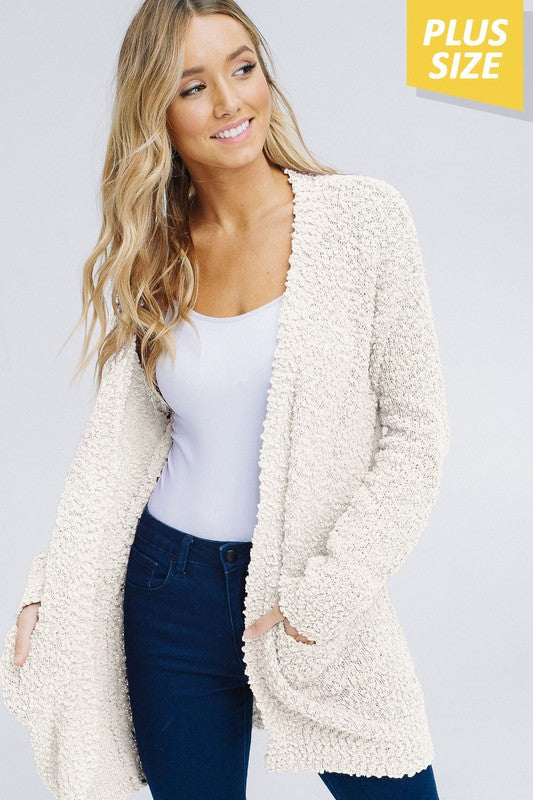 Snow Cream Cardigan P180P