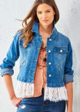 Charlie Paige Sedona Denim Jacket - 404397