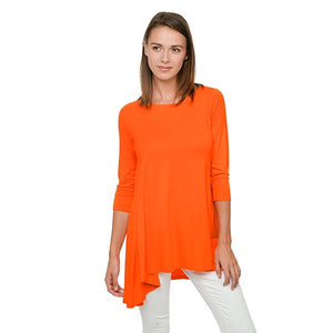 FanFare Tunic - Go Big Orange - P027P