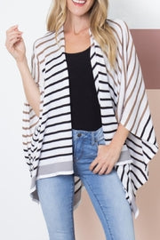 Simply Noelle Striped Cardigan - SN001