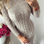 Mia - Knitted Sweater Dress