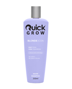 Quick Grow Advanced Amino Blonde Icon Shampoo 250ml - Rootz Hair Products
