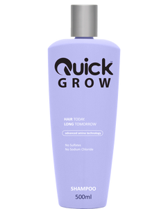 Quick Grow Advanced Amino Blonde Icon Shampoo 500ml - Rootz Hair Products