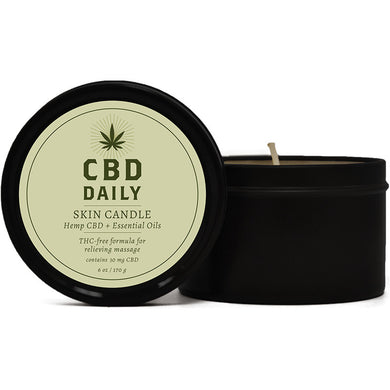 CBD Daily Skin Candle 170g - Rootz Hair Products