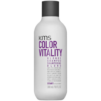 KMS Color Vitality Blonde Shampoo 300ml - Rootz Hair Products