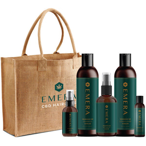 EMERA  Bag with Products - Rootz Hair Products