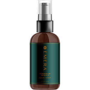EMERA Nourishing CBD Serum 60ml - Rootz Hair Products