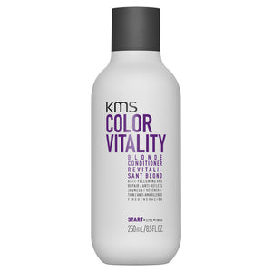 KMS Color Vitality Blonde Conditioner 250ml - Rootz Hair Products