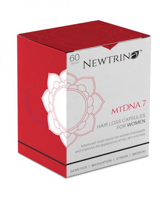 Newtrino mtDNA7 Hair Loss Capsules for Women 60 - Rootz Hair Products