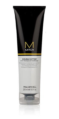 Paul Mitchell Mitch Double Hitter 2-in-1 Shampoo & Conditioner 250ml - Rootz Hair Products