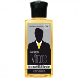 Vines Vintage Coconut Oil, Brilliantine 200ml - Rootz Hair Products